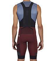 Sportful SuperGiara - pantaloni bici con bretelle - uomo, Red