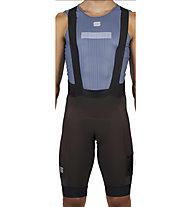 Sportful SuperGiara - pantaloni bici con bretelle - uomo, Brown