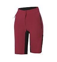 Sportful Supergiara Overshort - pantalone da ciclismo - donna, Red