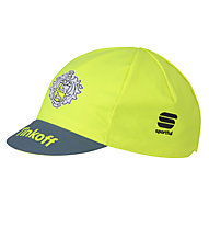 Sportful Tinkoff Cycling Cap Rennradmütze 2016, Yellow Fluo