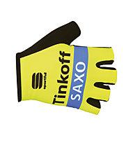 Sportful Tinkoff Saxo Bodyfit Race Glove - Guanti Ciclismo, Sun/Blue