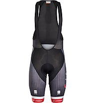 Sportful Team Trek-Segafredo Replica Men's Bib Shorts - Radhose - Herren, Black/Red