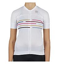 Sportful Vélodrome - maglia da ciclismo - donna, White