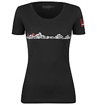 Sportler E5 - t-shirt tempo libero- donna, Black