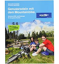 Sportler Genussradeln mit dem Mountainbike, Deutsch/Tedesco
