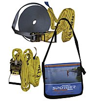 Sportler Slackline Set, Grey/Yellow
