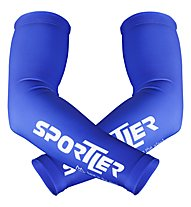 Sportler Sportler Armwarmer - Manicotti, Blue/White
