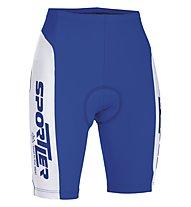 Sportler Sportler Bibshort, Blue/White