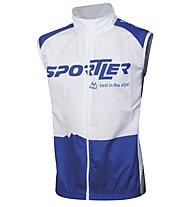 Sportler Sportler Radweste, White/Blue
