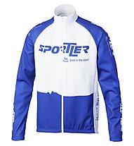 Sportler Sportler Jacket Antiwind, White/Blue