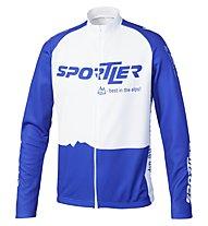 Sportler Sportler Jersey LS - Maglia Ciclismo, White/Blue