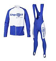 Sportler Sportler Jersey LS + Bibtight Superroubaix Rad-Komplet