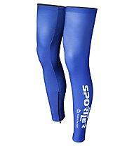 Sportler Sportler Legwarmer, Blue/White