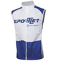 Sportler Sportler Gilet - Gilet Ciclismo, White/Blue