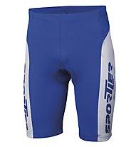 Sportler Sportler Short - Pantaloncini Ciclismo, White/Blue