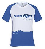 Sportler Laufshirt SS Nizza Sportline W, White/Navy