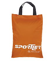 Sportler Suede - borsa porta pelli sci alpinismo, Dark Orange