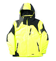 Spyder Boy's Leader Skijacke (2015), Bryte Yellow/Black/Polar