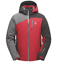Spyder Copper - Skijacke - Herren, Light Grey/Red
