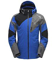 Spyder Leader - giacca da sci - uomo, Blue/Black