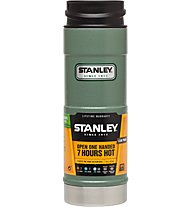 Stanley Classic Onehand Vacuum Mug 0,47 L Thermos-Trinkbecher, Hammertone Green
