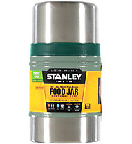 Stanley Classic Vacuum Food Jar 0,5 L - thermos per cibo, Metal/Green