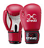 Sting Armalite Boxing Gloves 10 Oz, Red