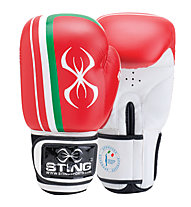 Sting Guanti boxe FPI Official, Red/White