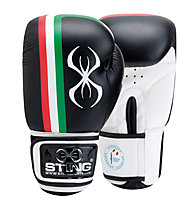 Sting FPI Official 10 Oz Boxhandschuh, Black/White