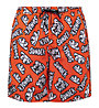 "Sundek Pervis Boardshort 16"" - Badehose - Herren, Orange/Black/White"
