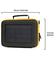 SunnyBag Action Solar Case - Mobile Aufladebox, Black