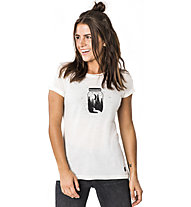 Super.Natural Everyday Print - T-shirt - donna, White/Black