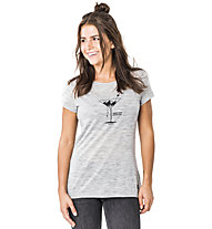 Super.Natural Everyday Print - T-shirt - donna, Light Grey