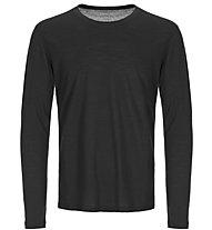 Super.Natural M Base 140 - maglia a maniche lunghe - uomo, Black