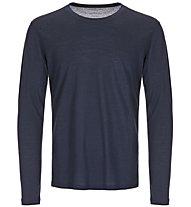 Super.Natural M Base 140 - maglia a maniche lunghe - uomo, Blue