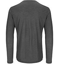 Super.Natural M Base 140 - maglia a maniche lunghe - uomo, Dark Grey