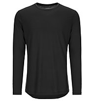 Super.Natural M Base LS 175 - maglietta tecnica a manica lunga - uomo, Black