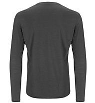 Super.Natural M Base LS 175 - maglietta tecnica a manica lunga - uomo, Dark Grey