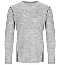 Super.Natural M Base LS 175 - maglietta tecnica a manica lunga - uomo, Light Grey