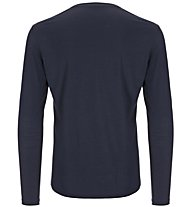 Super.Natural M Base LS 175 - maglietta tecnica a manica lunga - uomo, Dark Blue