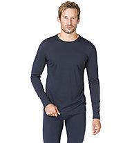 Super.Natural M Base LS 175 - maglietta tecnica a manica lunga - uomo, Dark Blue