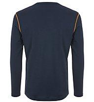 Super.Natural M Base 230 - maglia a maniche lunghe - uomo, Blue