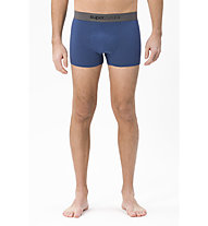 Super.Natural M Base Mid Boxer 175 - boxer - uomo, Blue