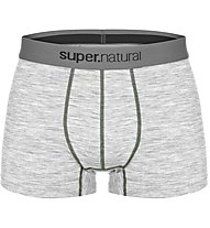 Super.Natural M Base Mid Boxer 175 - Funktionsunterhose - Herren, Light Grey