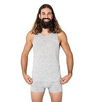 Super.Natural M Base 140 - maglietta tecnica - uomo, Light Grey