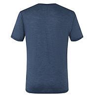 Super.Natural M Tee Base 140 - maglietta - uomo, Light Blue