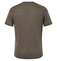 Super.Natural M Tee Base 140 - maglietta - uomo, Brown