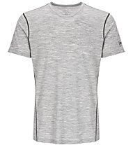 Super.Natural M Base Tee 175 - maglietta tecnica - uomo, Light Grey
