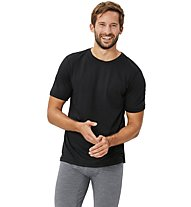 Super.Natural M Base Tee 175 - maglietta tecnica - uomo, Black