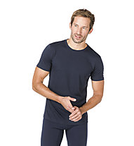 Super.Natural M Base Tee 175 - maglietta tecnica - uomo, Dark Blue